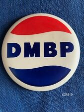 Vintage 1965 Pepsi Cola District Manager Boost Promotion Pinback Button Pin Badg