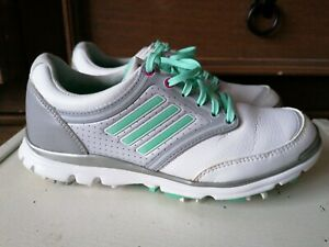 Adidas Golf Trainers Size 4uk Eur 36.5