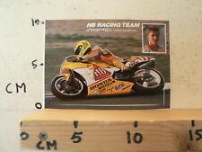 STICKER,DECAL STEFAN PREIN HONDA RS/SPL 250 HB RACING TEAM MICHELIN PVM MOTO GP