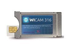 Wisi CAM 316 CI+ Modul mit integrierter HDTV SAT-Karte für ORF HD und HD Austria
