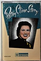 Cassette Patsy Cline Story TESTED Hits Walkin' After Midnight San Antonio Rose
