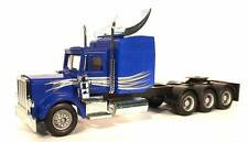 HO 1/87 Promotex # 6528 Peterbilt w/Mulit-use Chassis - Blue