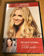 Beth Minardi Vero K-PAK Color System DVD Hair Dying Tutorial BLONDE NEW SEALED