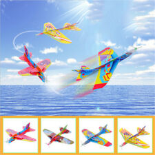 Flying Back Magic Swing Plane 360 Cyclotron Airplane Kids DIY Model GiftV#aysV#a