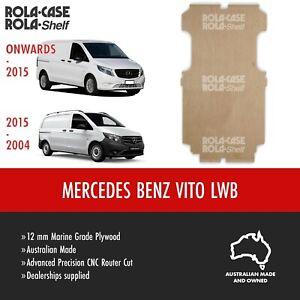Mercedes Benz Vito LWB - Genuine Van Cargo Flooring 12mm Marine Grade Plywood