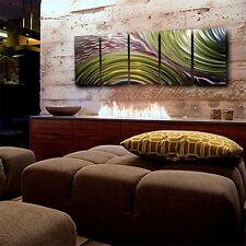 Abstract Contemporary Green Metal Wall Art Decor - Eternal Optimist by Jon Allen