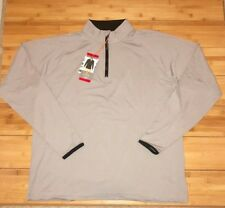 Cloudveil Mountainworks Men's All Season 1/4 Zip Pullover Gray Fog Size Medium