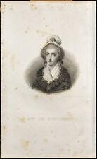 Retrato (1834) - Madame de Fougeret - Sociedad caridad maternal