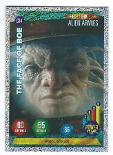Doctor Who Alien Armies Chase Card Glitter Card G14 The Face Of Boe Panini Good