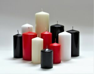 Pillar & Church Candles All Sizes & Colors! One Business Day Shipping! Order Now
