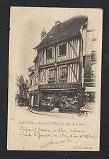 "LOUVIERS (27) DEVANTURE COMMERCE QUINCAILLERIE ""DELANOE & BOSCHER"" en 1903"