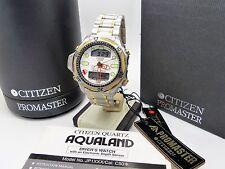Vintage CITIZEN Promaster Aqualand II JP1014-50A Diver C500-E80397 Box & Papers