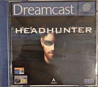 Headhunter Sega Dreamcast PAL Brand New PAL