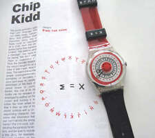 FIND THE CODE! Symbol ART Swatch by CHIP KIDD with DECIPHER KEY SHEET! NIB-RARE!