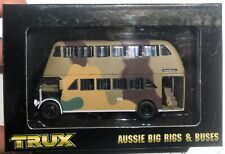 Trux 1939 Albion Venturer Double Deck Bus 1/76 New 'Sullys Hobbies'