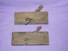 LOT of 2 Vintage Antique Wood Planes Planers Sandusky Tool Co Columbus ✽❅❆