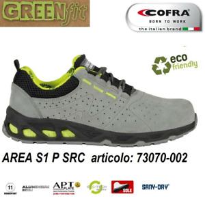 Cofra Area S1P SRC scarpe da lavoro basse estive antifortunistiche in pelle scam