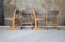 1(4) 60er Farstrup Eiche Esszimmerstuhl Mid-Century 60s Oak Chair Vintage