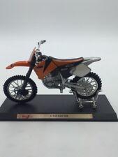 ktm 520 sx  moto miniature 1/18 n42/60 maisto atalaya fascicule
