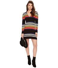 23016f5b0e NWT Free People Gidget Knit Striped V-Neck Sweater Dress