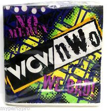 WCW WORLD CHAMPIONSHIP WRESTLING BEVERAGE NAPKINS Birthday Party Supplies
