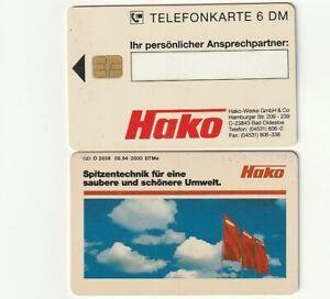 O 2038 09.94 - HAKO Umwelttechnik aus BAD OLDESLOE - Telefonkarte