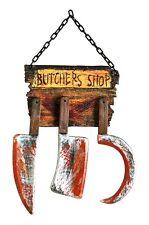 Butcher Shop Sign with Tools, Horror, Forum Novelties