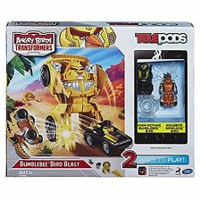 Angry Birds Transformers Bumblebee Bird Blast Launcher Ages 5 and up