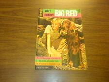 BIG RED - Gold Key Movie Comic - 1962 WALT DISNEY
