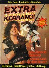 Armored Saint on Kerrang Extra No.6 Magazine Cover   Jon Bon Jovi    Metallica