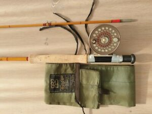 "Hardy Splitcane Flyrod "" Finecrest Neo Cane "" 9 foot and # 7"