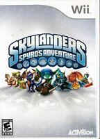 * Nintendo Wii Activision Skylanders Spyros Adventure *WiiU U Compatible 👾