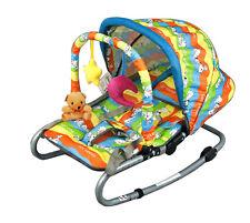 Babywippe mit Spielbogen und Dach Babyliege Wippe BABYSCHAUKEL mit GRATIS