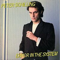 PETER SCHILLING - Error In The System Expanded Edition (Jewel Case) [CD]