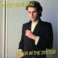 PETER SCHILLING - Error In The System: Expanded Edition (Jewel Case) [CD]