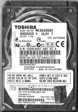 TOSHIBA MK3263GSX HDD2H23 V UL01 T 320GB SATA HARD DRIVE  A0/FG020M