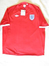 Umbro England English National Team Authentic Jersey size 54 away red NWT NEW