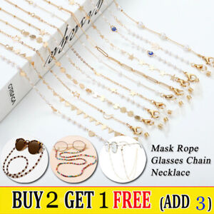 Eye Glasses Sunglasses Spectacles Chain Holder Neck Rope Cord Lanyard Necklace