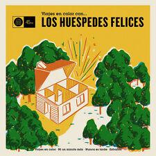 """LOS HUESPEDES FELICES Viajes En Color Con... 7"""" . pop beat ye-ye los brincos"""