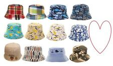 Boys bucket hats kids sun sunshine summer beach