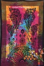 Indian Twin Mandala Dream Catcher Tapestry Bedding Sheet Wall Hanging Bedspread