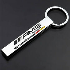 MERCEDES AMG LOGO KEYRING STRONG HIGH QUALITY METAL TITANIUM ALLOY