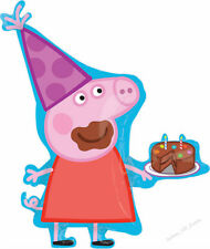 PEPPA PIG PARTY SUPPLIES SUPER SHAPE FOIL BALLOON BIRTHDAY GENUINE LICENSED LARG
