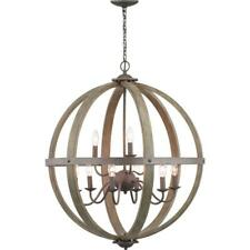 Progress Lighting Keowee 9-Light Artisan Iron Orb Chandelier