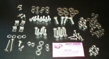 Triumph Underhood SS Hardware Kit TR3A (late)-TR3B