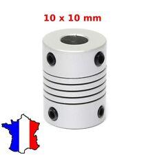 COUPLEUR 10x10mm - Shaft Flexible Coupling Coupler - 10*10 accouplement moteur