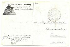 NED INDIE DUTCH INDIES 1947  AK-DIENST WELFARE   =VELDPOST SOERABAJA 2=FRAAI