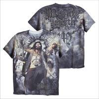 MINUTE MIRTH Jesus Tattoo Punk Rock Biker Gangster Gothic Type #M107 Men T-Shirt