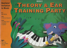 New Book D Theory & Ear Training Party Bastien's Invitation to Music Age 4 & Up