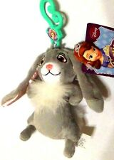 NEW! Disney Princess Sofia the First Bunny Rabbit Clover Plush Key Chain Clip On